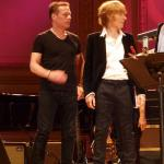 JGT and Larry Mullin JR at Carnegie Hall